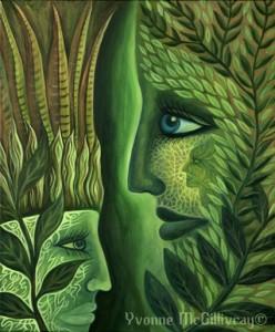 plant faces