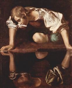 Narkissos Michelangelo Caravaggio 065