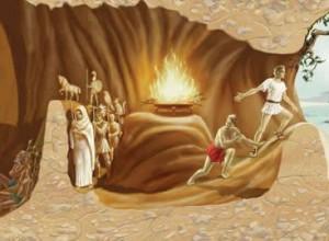 Ο ΚΟΣΜΟΣ ΤΟΥ ΑΓΑΘΟΥ ΒΡΙΣΚΕΤΑΙ ΕΞΩ ΑΠΟ ΤΟ ΣΠΗΛΑΙΟ ΤΟΥ ΠΛΑΤΩΝΑ