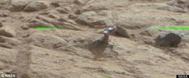 Μεταλλικό αντικείμενο στον Άρη